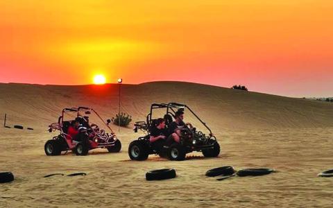 Desert Safari nice place