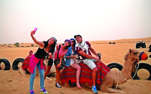 Desert Safari nice attraction